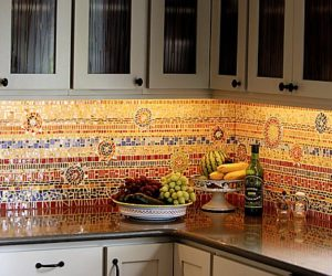 Ordinaire ... 16 Wonderful Mosaic Kitchen Backsplashes