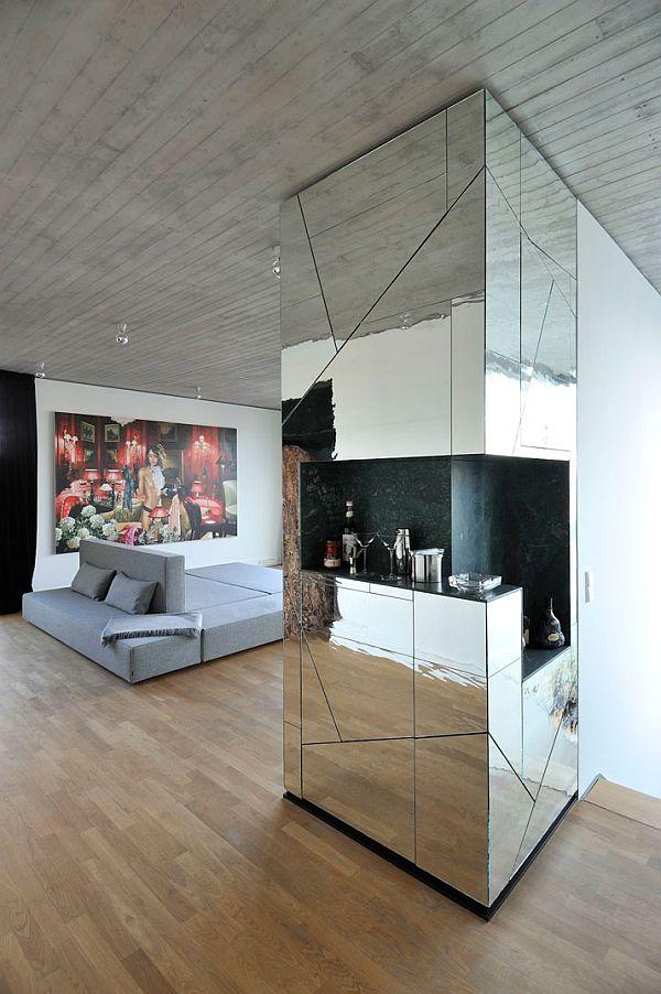 Retro Bling Penthouse Interior Design By Lecarolimited