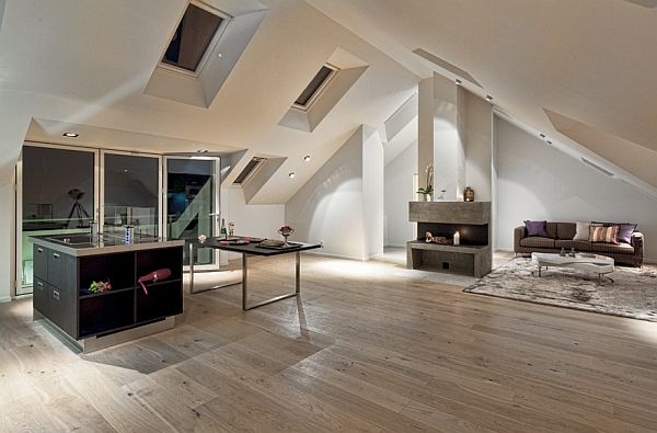 Unique Penthouse In Stockholm Amazing Pictures