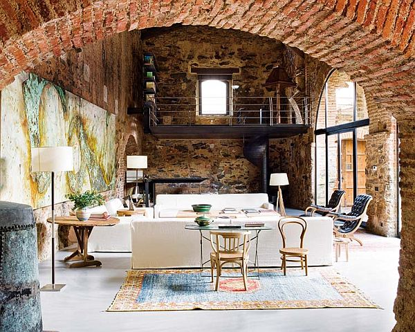 Remodeled 12th century oil mill