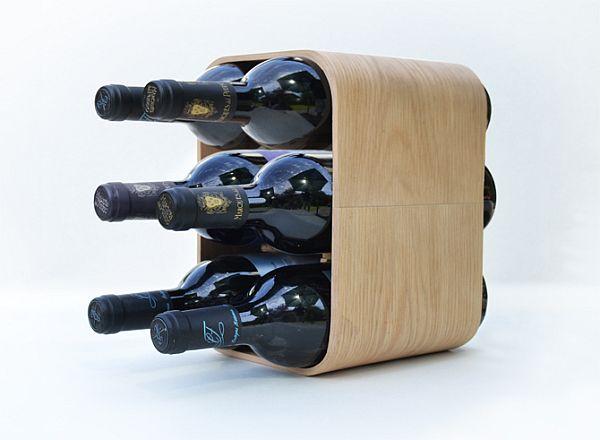 SEI bottle rack by Ander Lizaso