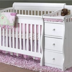 Exceptional Sorelle Tuscany 4 In 1 Convertible Crib And Changer Combo