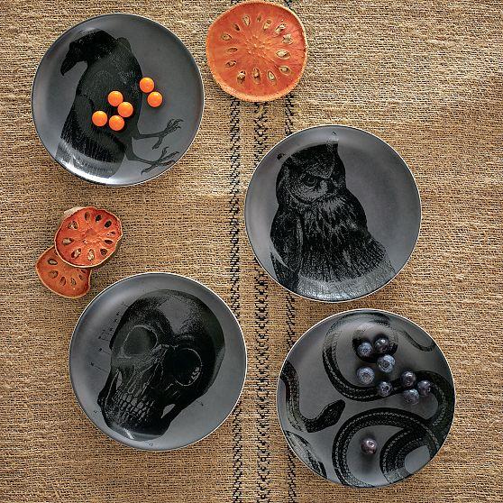 Spooky Canapé Plates