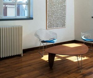 Museum chair by Harry Bertoia