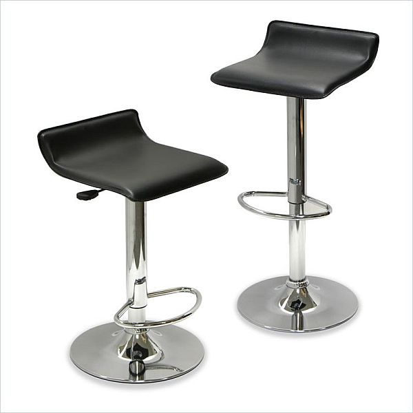 Winsome Spectrum Adjustable Air lift Bar Stools
