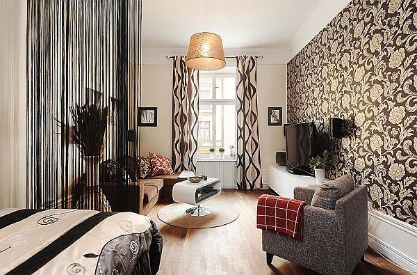 Fresh 1880s apartment in Stockholm