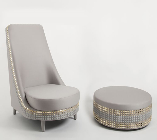 Great Your Living Room Will Definitely Become More Elegant And Attractive If You  Use This Salon Armchair Accompanied By A Small Round, Side Table. Good Looking