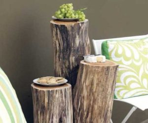 Good ... Unique Accessories · Ingenious Projects That Turn Wood Logs Into  Outdoor Furniture Design Ideas