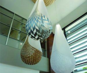 Egg Basket Chandelier · Huge Basket Lights By David Trubridge