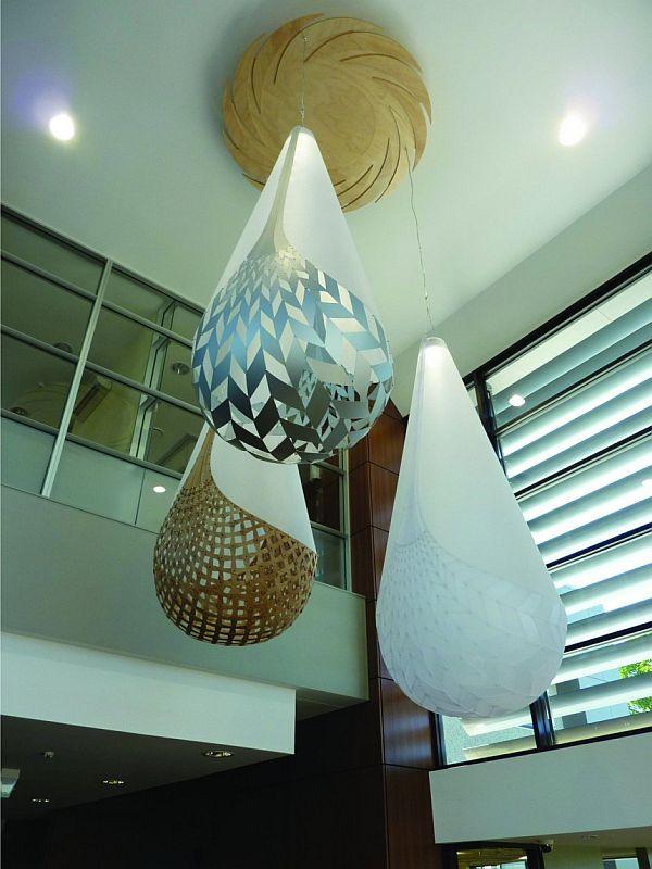 Huge Basket Lights By David Trubridge