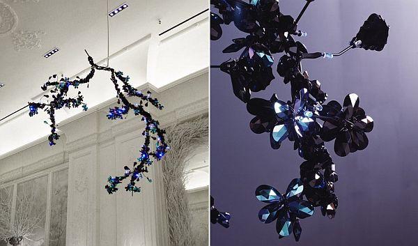 Night Blossom chandelier