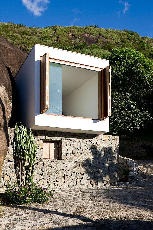 Small Box House In Sao Paulo Brazil
