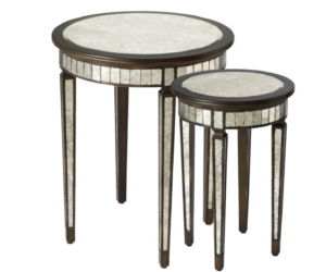 Isla Mirrored Nesting Tables