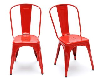 Stylish stackable chairs