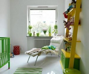 A few colorful and fun design ideas for the kids' room