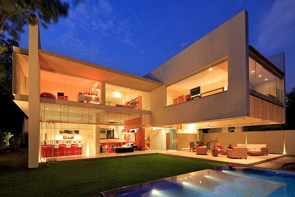 Lovely Contemporary Godoy House In Mexico Good Looking