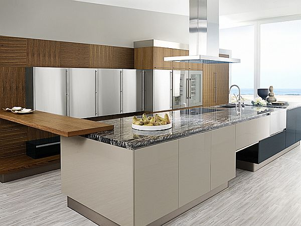 23 modern contemporary kitchen ideas for Modern kitchen design