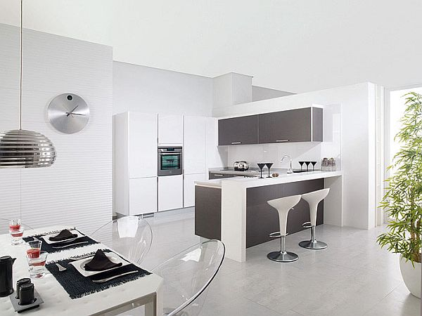 grey and white contemporary kitchens 23 modern contemporary kitchen ideas 6954