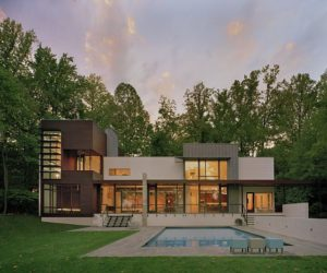 The Modern Crab Creek House by Robert M. Gurney