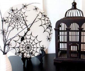 Funny DIY Halloween Wall Clock