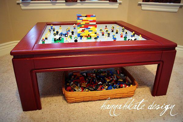 Fun lego table
