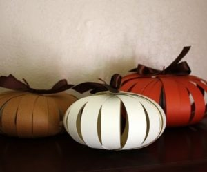 DIY Paper Pumpkins – The Perfect Fall Project