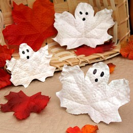 diy-spooky-ghost-leaves