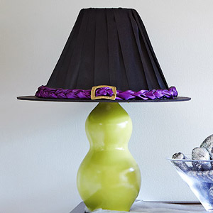 DIY Witch-Like Lampshade