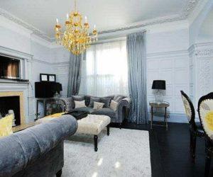 Elegant three-bedroom flat in London