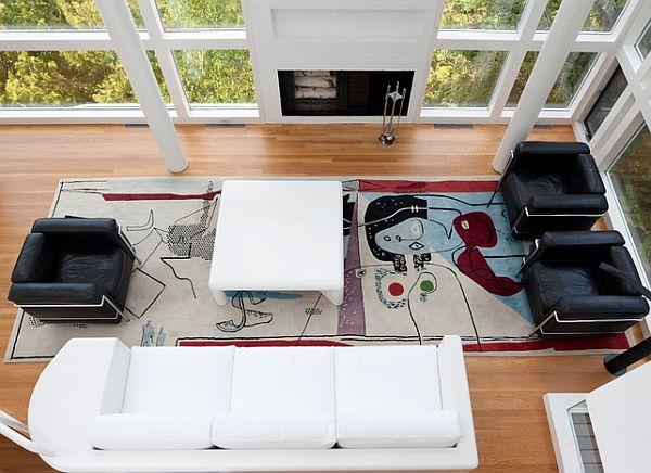The Restored Version Of Richard Meier S Douglas House
