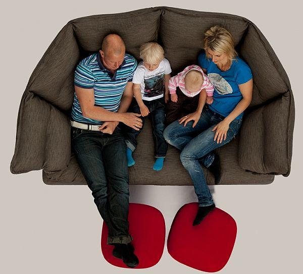 Cozy and Comfortable Enveloppe Sofa