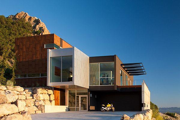 Foyer Area Utah : Modern residence located salt lake city utah