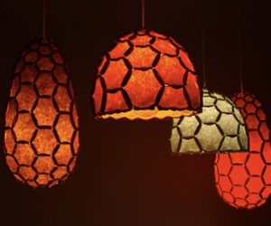 Sweet Honeycomb Lamp Shades by DesignTree
