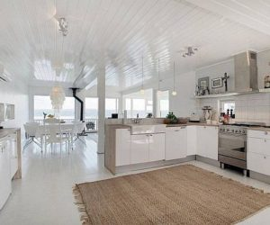 Modern residence on Fjord Vangen offering charming views for sale