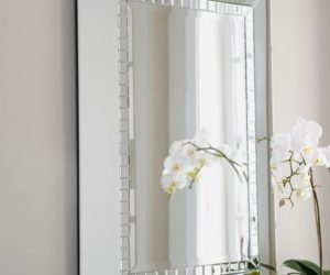 Angel Wall Mirror For Bathroom Or Entryway · Chic Jexa Mirror
