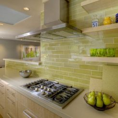 the beauty of subway tiles in the kitchen