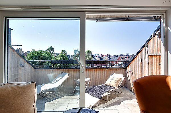 Big Stockholm penthouse