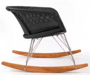 Chair 6 Rocker for indoor-outdoor use