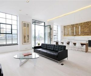 Contemporary apartment interior in London by Chiara Ferrari