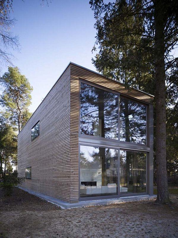 box shaped house by scheidt kasprusch architekten. Black Bedroom Furniture Sets. Home Design Ideas