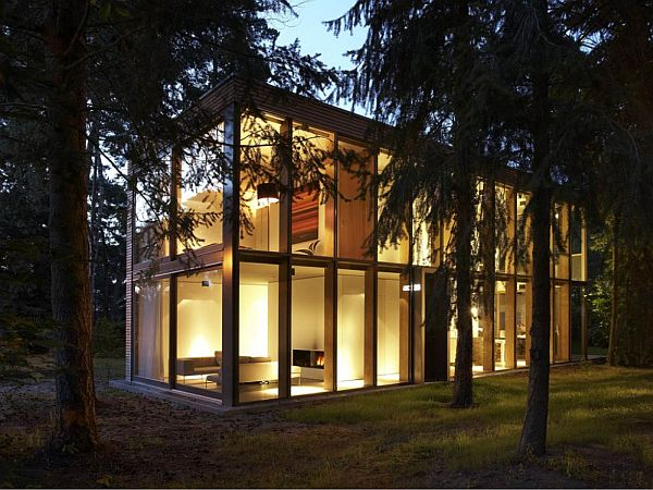 Box Shaped House By Scheidt Kasprusch Architekten