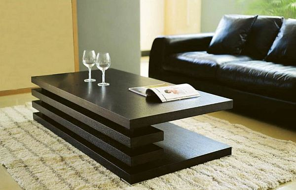 Modern Coffee Table modern versa coffee table