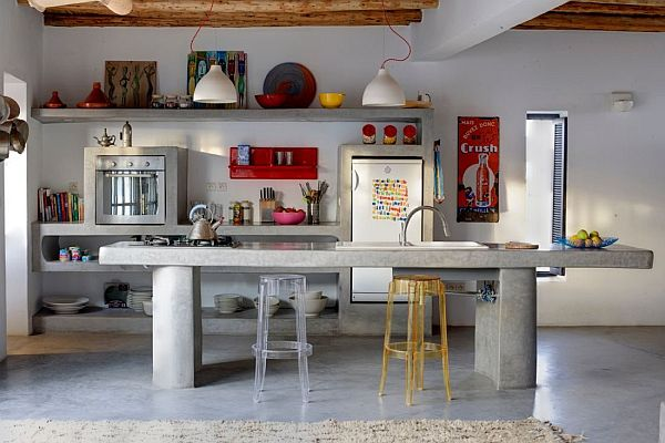Modern country house in Morocco