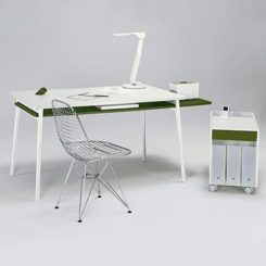 The Enchord Desk And Mobile Cabinet