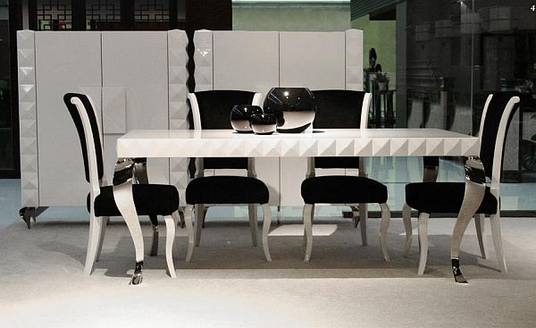 Stylish Mia Dining Table - Very modern dining table