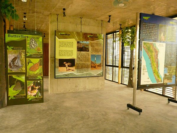 Centre in a protected forest and nature reserve