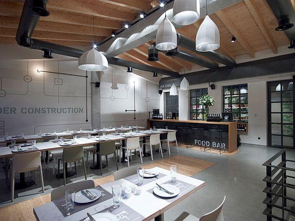The Prosopa Interior Design Restaurant In Athens - Restaurant-interior-design-at-wt-hotel-italy