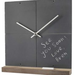 Reclaimed slate clock: both fun and functional