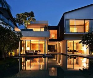 Contemporary Sentosa Residence in Singapore
