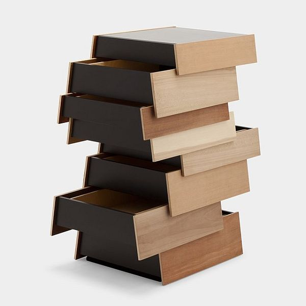 Stack 8 Drawer Storage Unit By Shay Alkalay